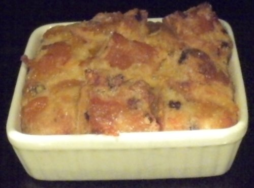 Gloria's Hot Cross Bun & Butter Pudding, Holy Saturday, 2013