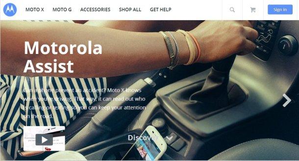 MotoXwebpage