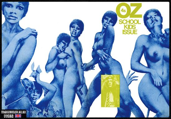 The Schoolkids' OZ which landed Felix Dennis in jail