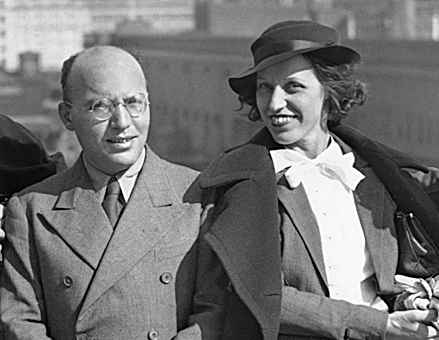Kurt Weill and Lotte Leya