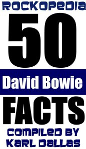 Rpckopedia - 50 David Bowie Facts